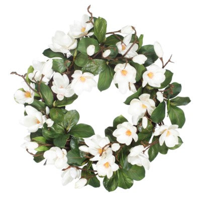 TREE MAGNOLIA LEAF WREATH #1P5827.WHGROO