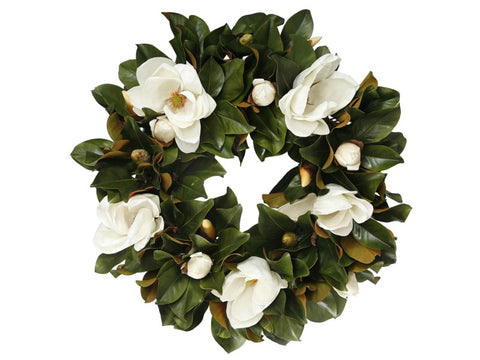 WREATH MAGNOLIA 30''  #1P91661.WHOO