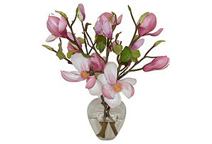 Magnolias in Garden Bouquet #51100