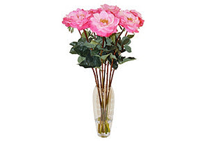 Tall Roses in Vase #51113