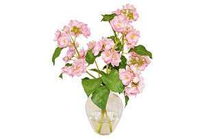 Peach Blossoms in Garden Bouquet #51167
