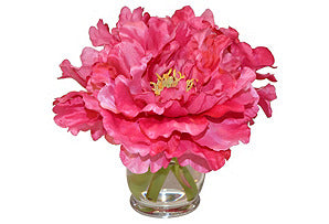 Peonies in Large Hourglass #51306