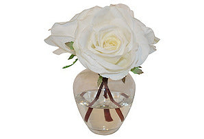Roses in Garden Bouquet Vase #51366