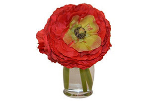 Ranunculus in Hourglass #51395