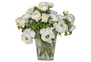 Ranunculus in Wide Tapered Vase #51411