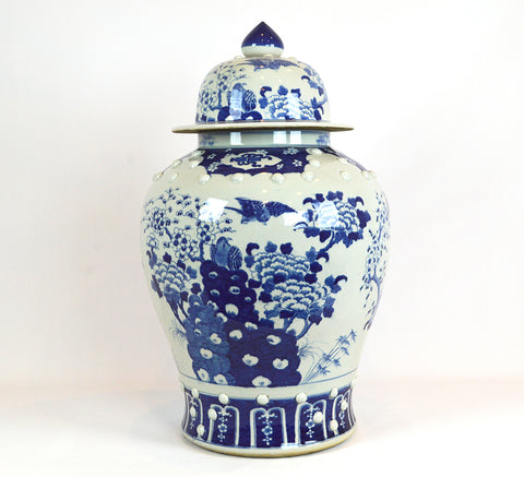 Lidded Ginger Jar #BWCT101