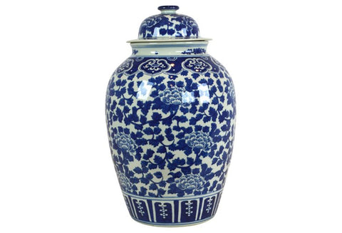 Lidded Ginger Jar #BWCT102