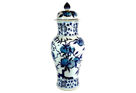 Large Pomegranate Pattern Urn #BWCT130