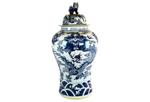 Large Ginger Jar w/ Foo Dog #BWCT133