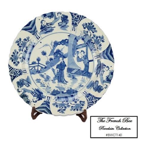 Blue and White Plate BWCT140