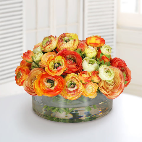 MIX ORANGE RANUNCULUS   #1071.OR00