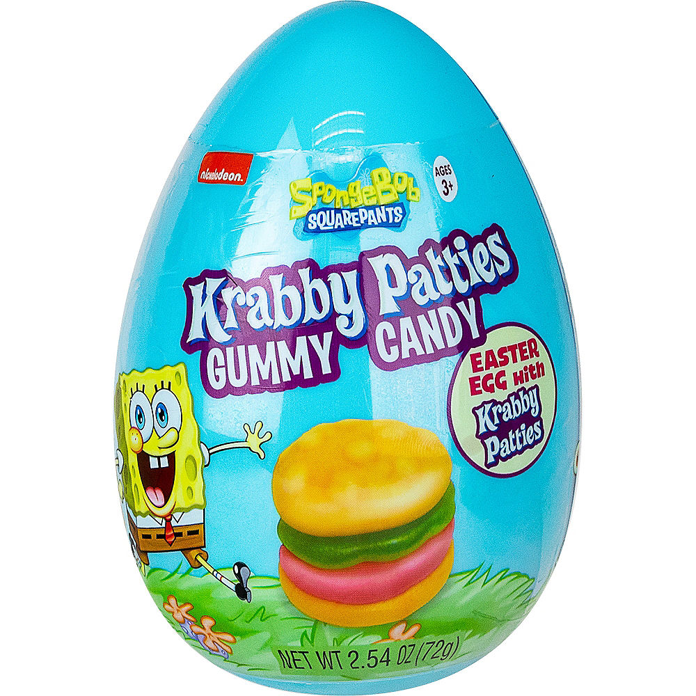SpongeBob Krabby Patties Egg
