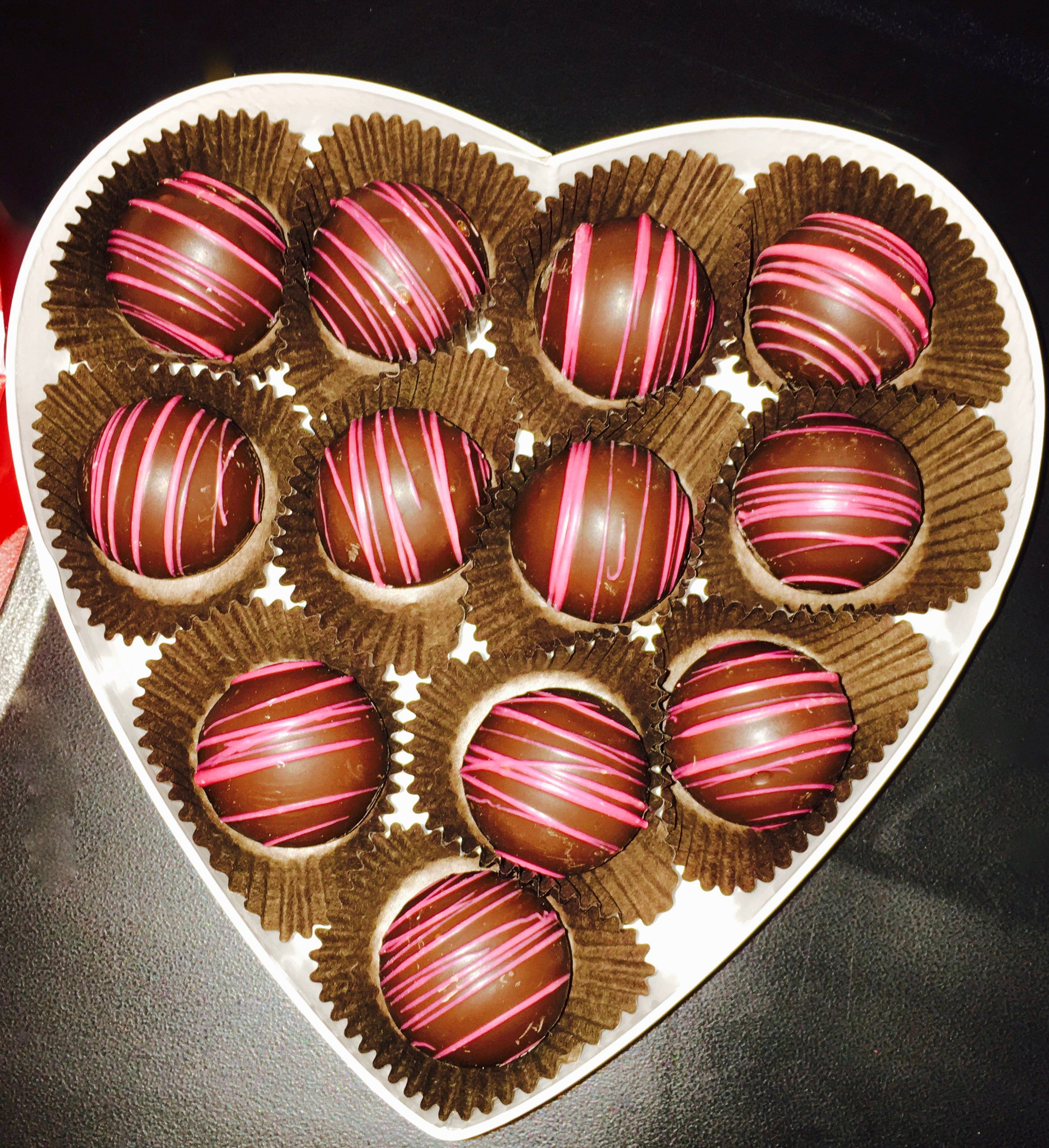 Medium Valentine Truffle Boxes