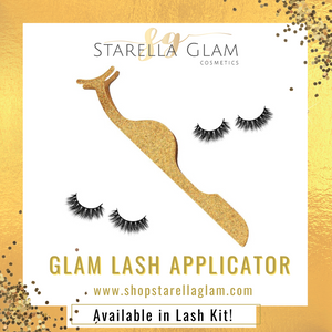 Eyelash Applicator Tool - Gold Glam