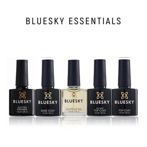 Bluesky Essential Top & Base Coats