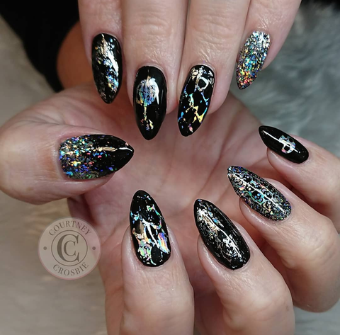 Nail foils | how to use nail foils