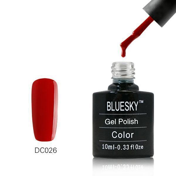 Bluesky DC26 Festive Red UV/LED Gel Nail Soak Off Polish 10ml