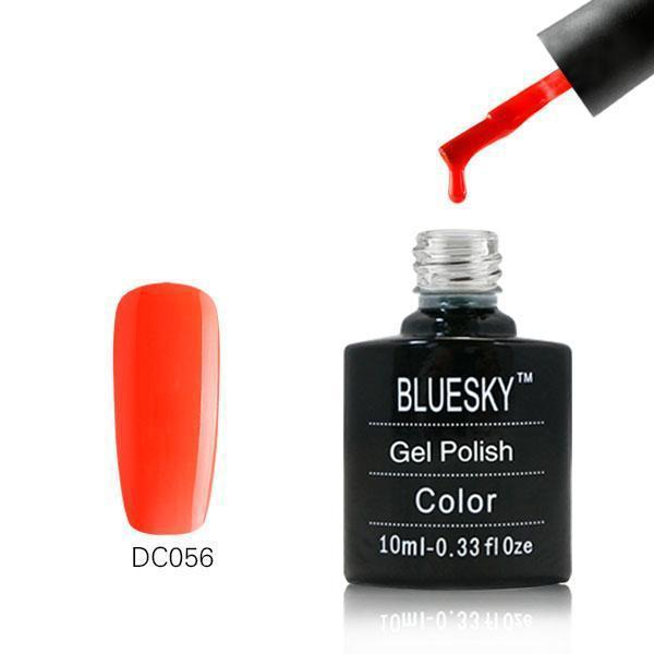 Bluesky DC56 Brillaint Red UV/LED Gel Nail Soak Off Polish 10ml