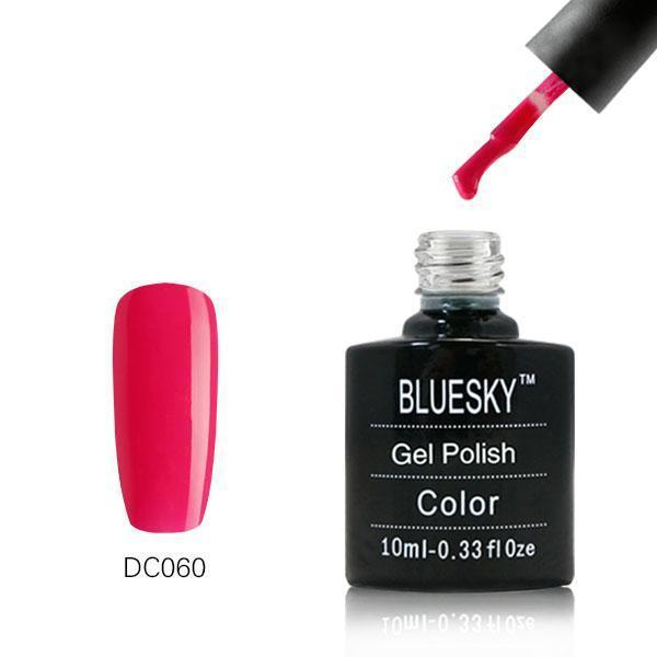 Bluesky DC60 Elegant Red UV/LED Gel Nail Soak Off Polish 10ml