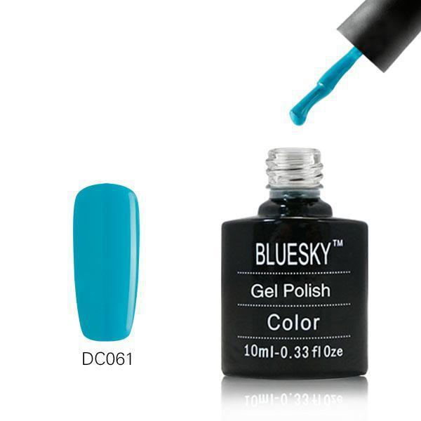 Bluesky DC61 Sea Green UV/LED Gel Nail Soak Off Polish 10ml