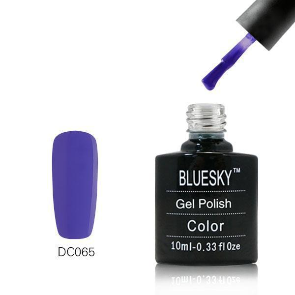 Bluesky DC65 Strong Slate UV/LED Gel Nail Soak Off Polish 10ml