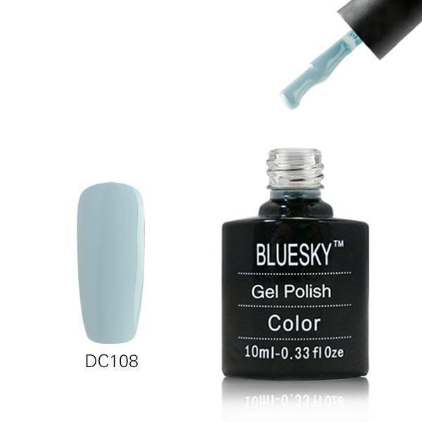 Bluesky DC108 Blossom Blue UV/LED Gel Nail Soak Off Polish 10ml