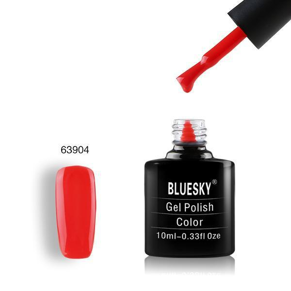 Bluesky Gel Polish 63904 Jelly Orange