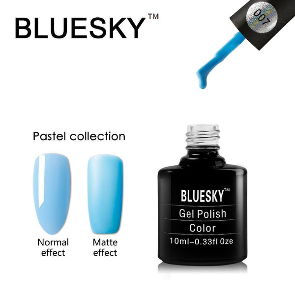 Bluesky Pastel 07 UV/LED Gel Nail Soak Off Polish 10ml