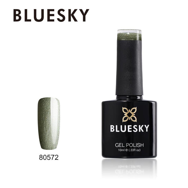 Bluesky 80572 Oliver Green UV/LED Soak Off Gel Nail Polish 10ml