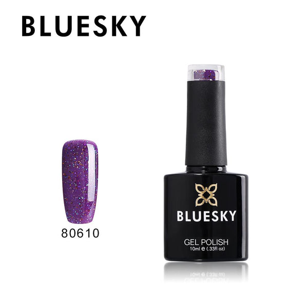Bluesky 80610 Nordic Lights UV/LED Soak Off Gel Nail Polish 10ml