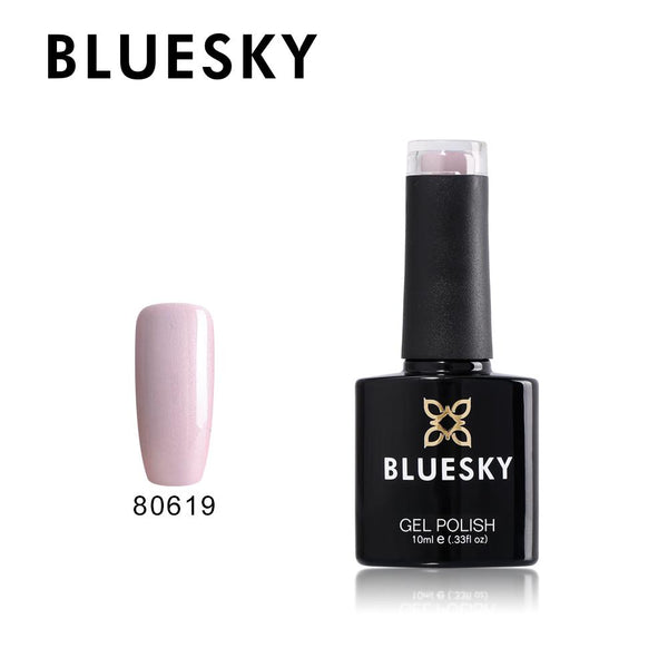 Bluesky 80619 Lavender Lace UV/LED Soak Off Gel Nail Polish 10ml