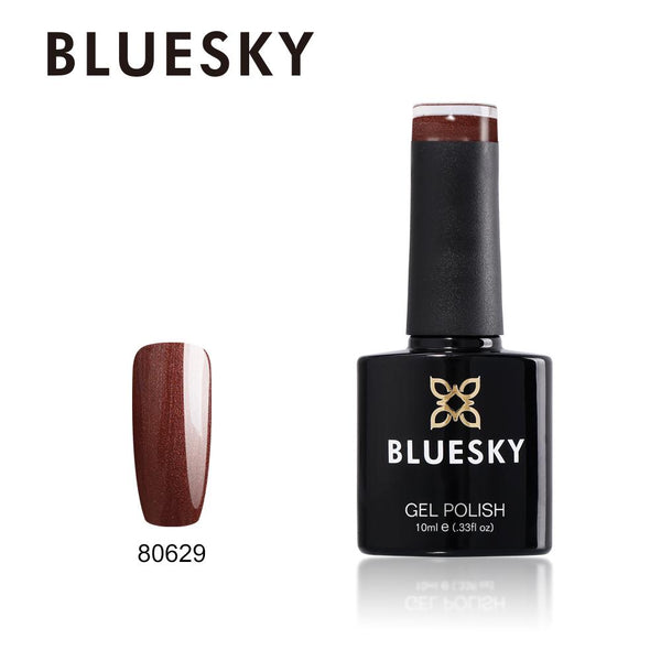 Bluesky 80629 Leather Satchel UV/LED Soak Off Gel Nail Polish 10ml