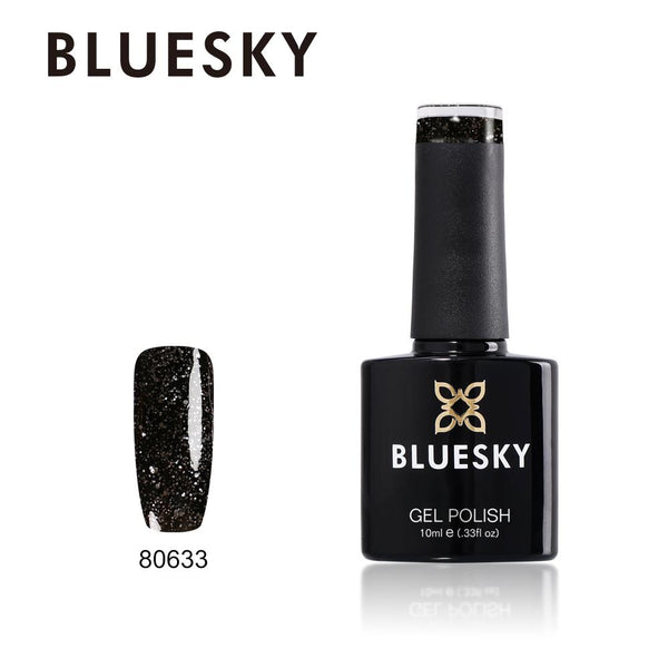 Bluesky 80633 Dark Diamonds UV/LED Soak Off Gel Nail Polish 10ml
