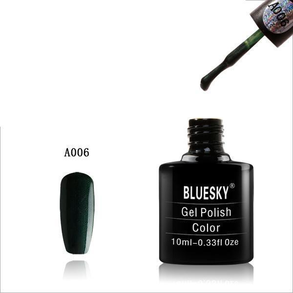 Bluesky A06 Moss Green UV/LED Soak Off Gel Nail Polish 10ml