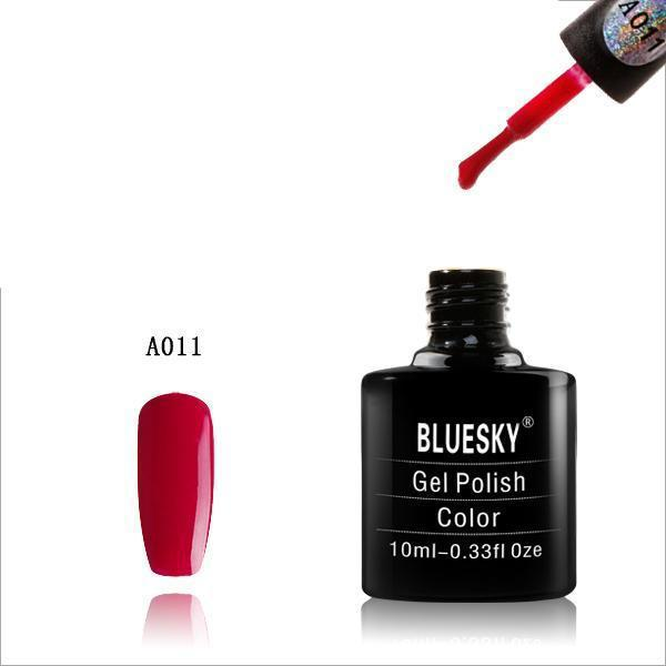 Bluesky A11 Dark Pink UV/LED Soak Off Gel Nail Polish 10ml