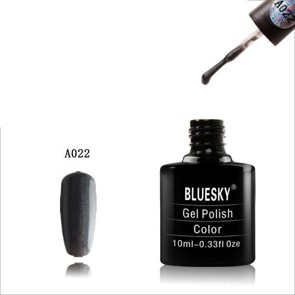Bluesky A22 Shiny Asphalt UV/LED Soak Off Gel Nail Polish 10ml