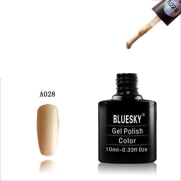 Bluesky A28 Honey UV/LED Soak Off Gel Nail Polish 10ml