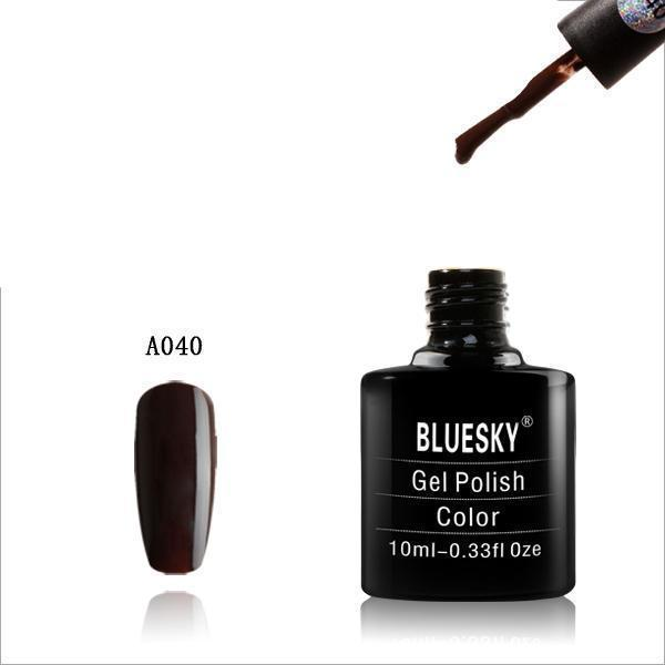 Bluesky A40 Dark Brown UV/LED Soak Off Gel Nail Polish 10ml
