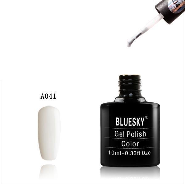 Bluesky A41 Block White UV/LED Soak Off Gel Nail Polish 10ml