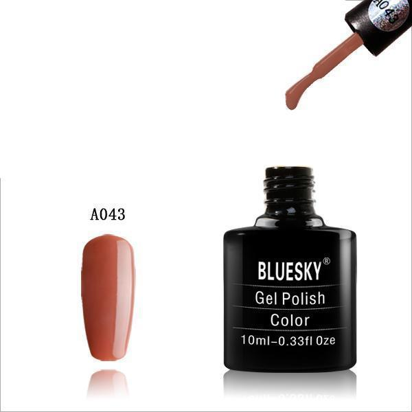 Bluesky A43 Light Brown UV/LED Soak Off Gel Nail Polish 10ml