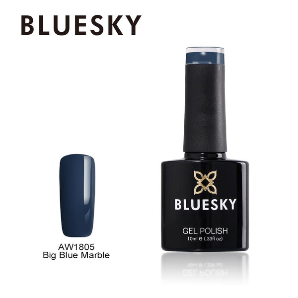 Bluesky AW1805 Big Blue Marble UV/LED Soak Off Gel Nail Polish 10ml