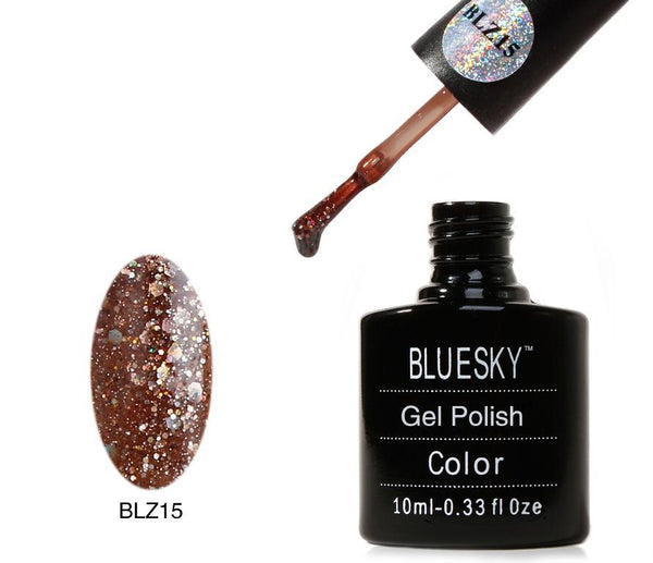 Bluesky BLZ 15 UV/LED Soak Off Gel Nail Polish 10ml