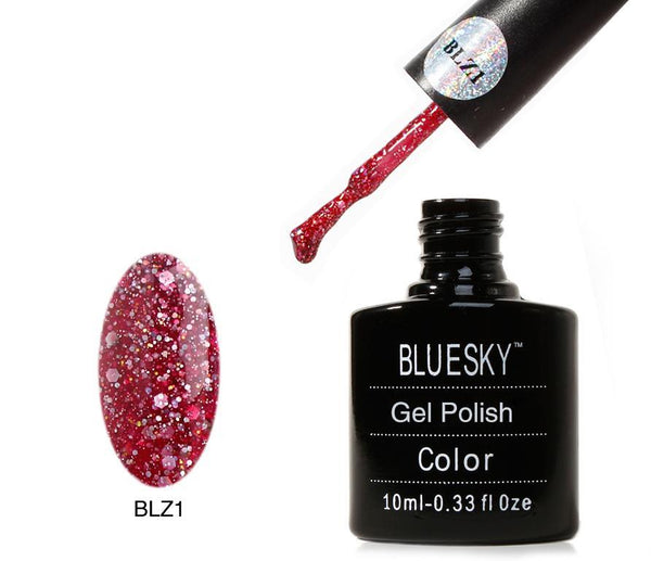 Bluesky BLZ 1 UV/LED Soak Off Gel Nail Polish 10ml
