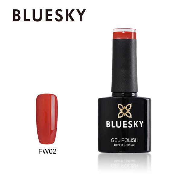 Bluesky FW02 Tomato Red UV/LED Soak Off Gel Nail Polish 10ml