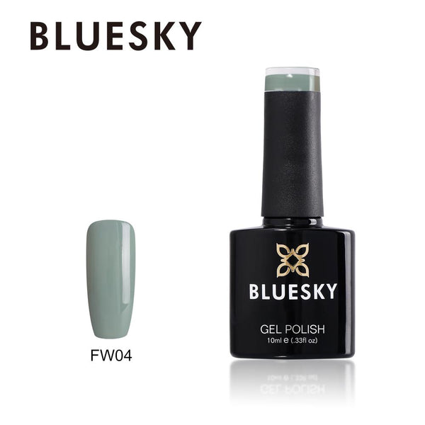 Bluesky FW04 Aquamarine Green UV/LED Soak Off Gel Nail Polish 10ml