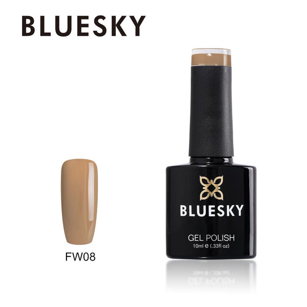 Bluesky FW08 Khaki Beige UV/LED Soak Off Gel Nail Polish 10ml