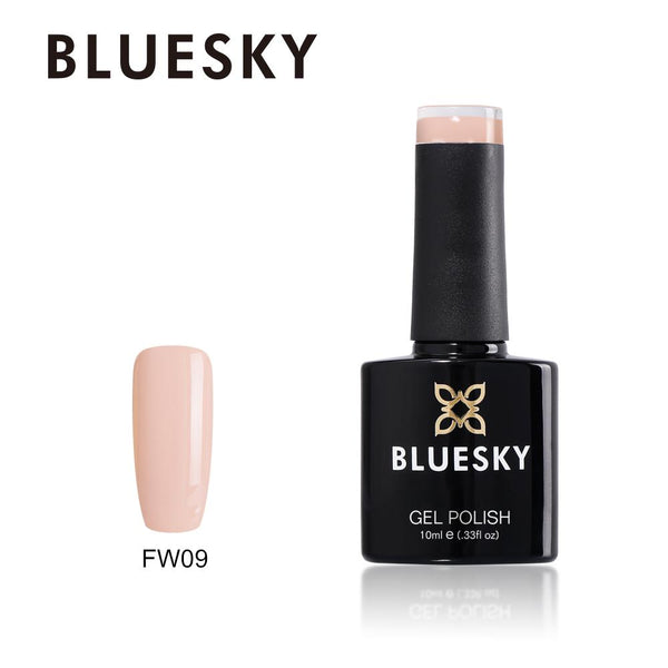 Bluesky FW09 Light Nude Rose UV/LED Soak Off Gel Nail Polish 10ml