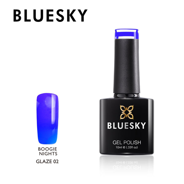 Bluesky Glaze 02 Boogie Nights UV/LED Soak Off Gel Nail Polish 10ml
