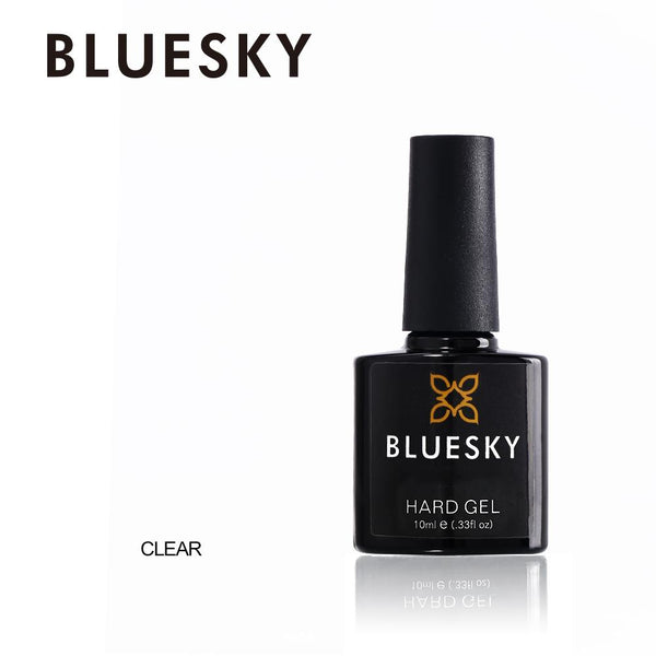Bluesky Clear Hard Gel UV/LED Soak Off Gel Nail Liquid Polish 10ml