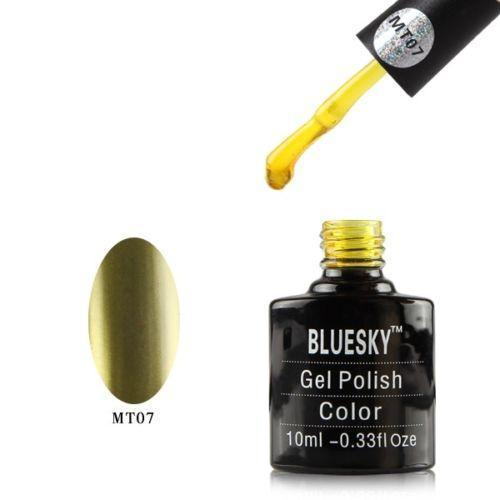Bluesky MT07 Olive Grove UV/LED Gel Nail Soak Off Polish 10ml